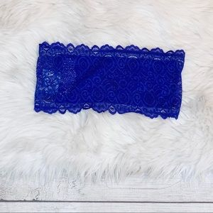 [Free People] NWT Seamless Lace Reversible Bandeau